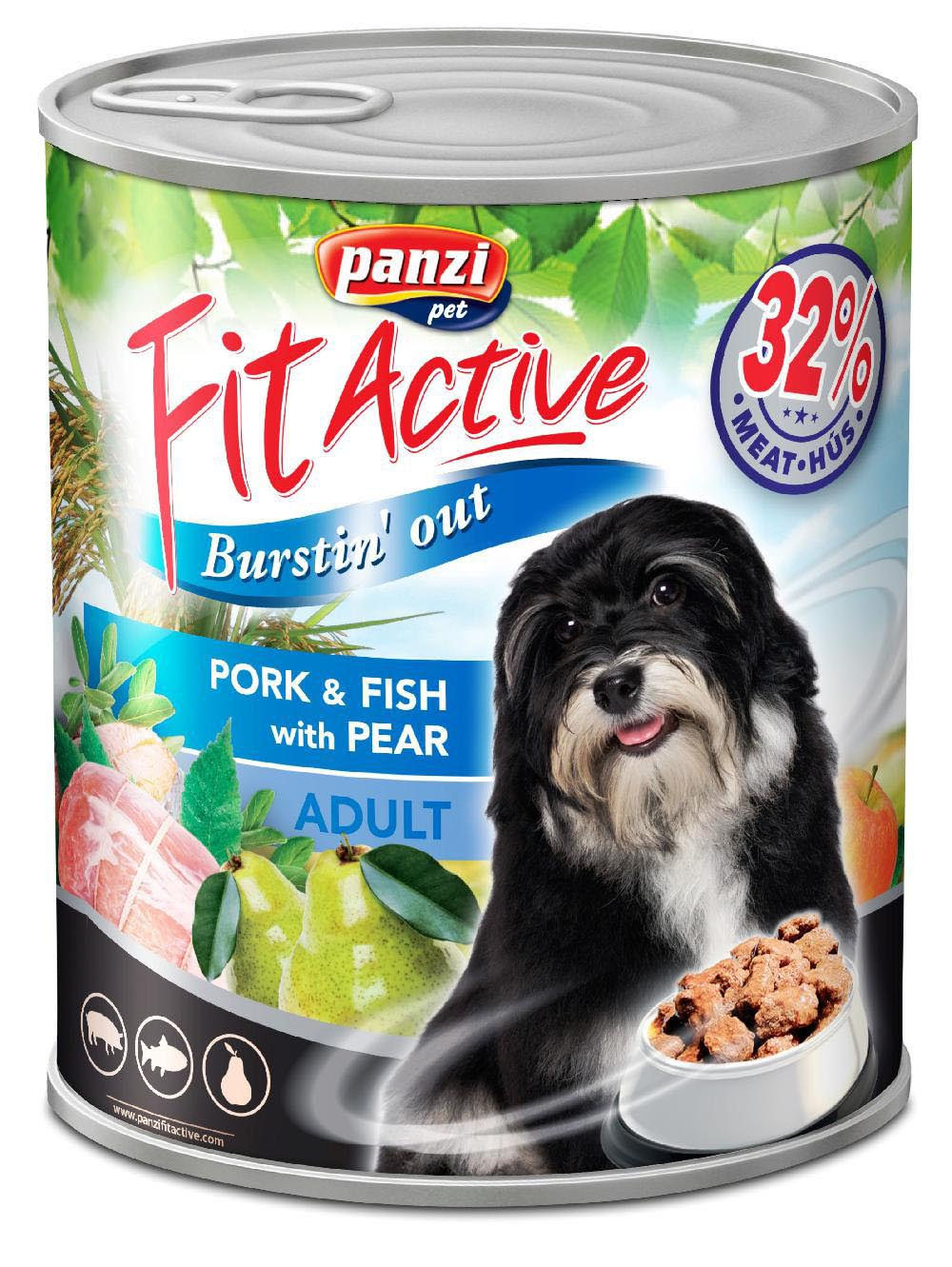 FitActive ADULT DOG Pork&Fish with Pear