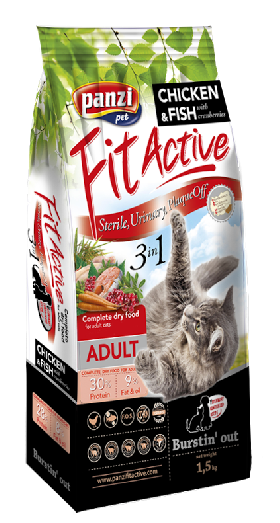 FitActive 3in1 ADULT CAT 1,5kg, 300g