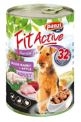 FitActive ADULT DOG Goose&Rabbit 1240g