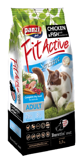 FitActive Sensitive ADULT CAT 1,5kg